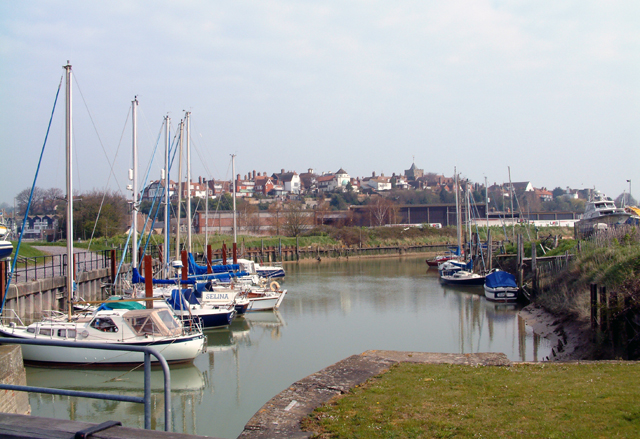 Rye from the lock gates