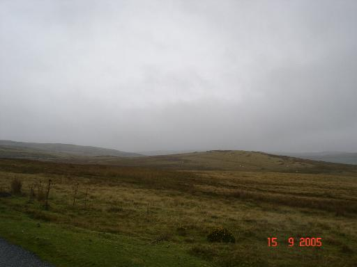 Moorland at Pentrefoelas