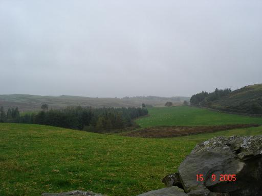 Near Nebo - open farmland