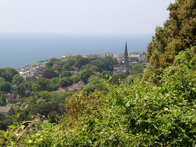 Ventnor from the east.