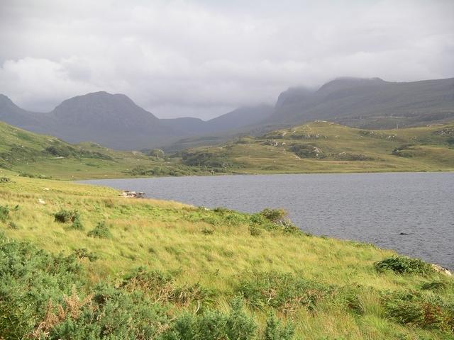 Head, Loch Osgaig