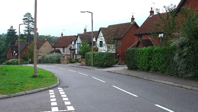 1990/2000s Housing. Another view of Chapman Road, Crawley, West Sussex