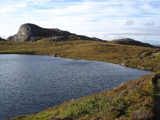 Raven's Crag over Lochan Fuar