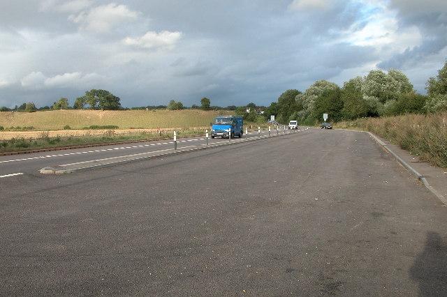 The A4103 at Bransford Bridge