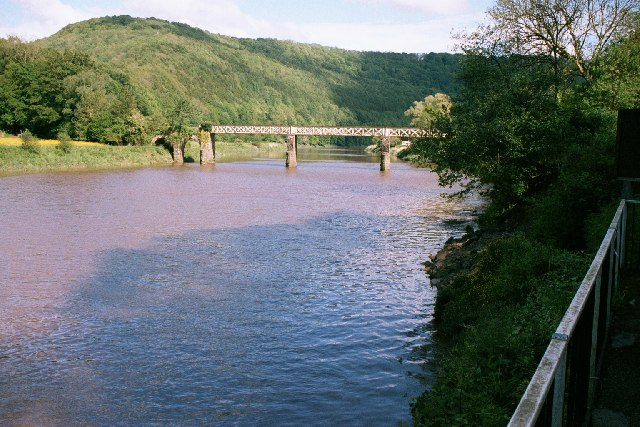 Old Tramway Bridge Tintern, Forest of Dean
