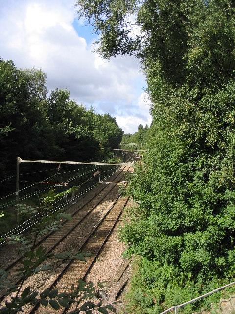 Railway Lines, Billericay, Essex
