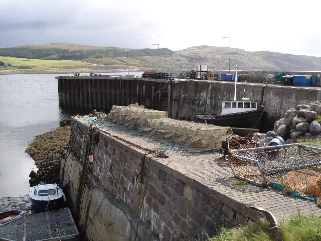 Pier, Aird Point, Aultbea