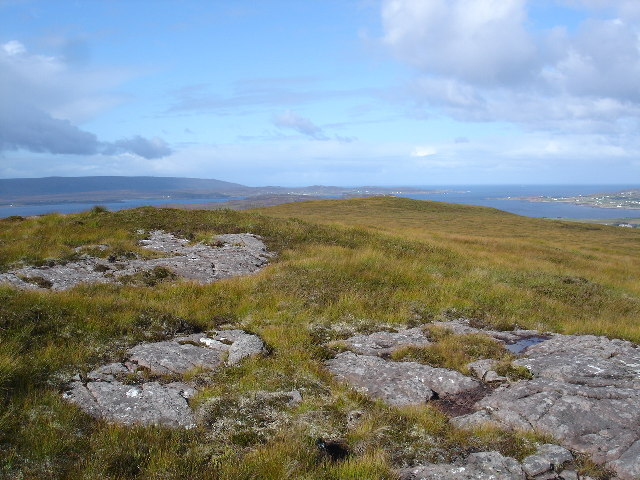 Summit of Maol na Bruaich