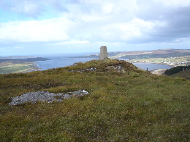 Trigpoint on Leathad Mor