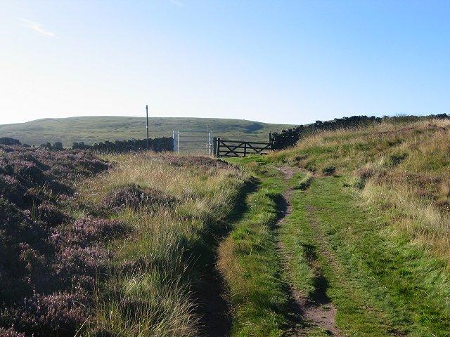 Pass, below Hare Hill.
