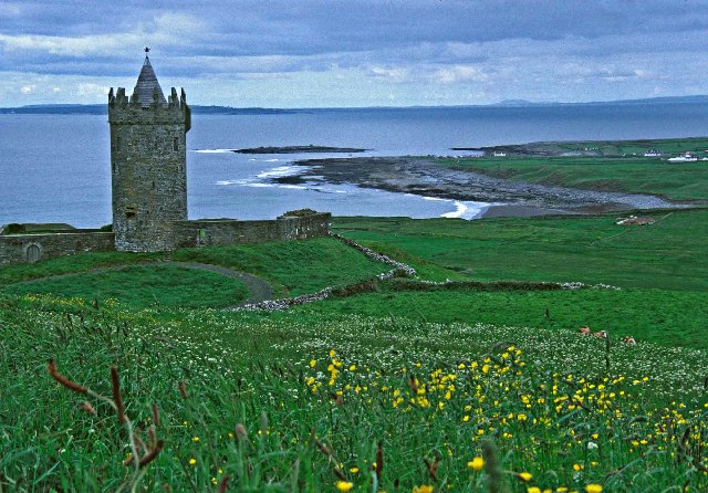Doonagore Castle, Doolin, County Clare