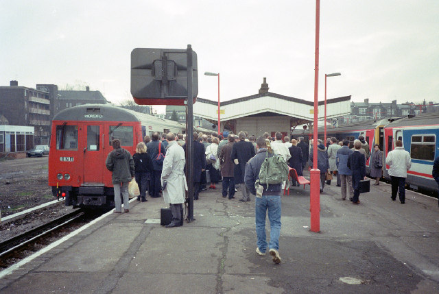 New Cross Gate Station 1991