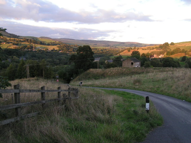 Towards Buxworth from Silkhill Farm
