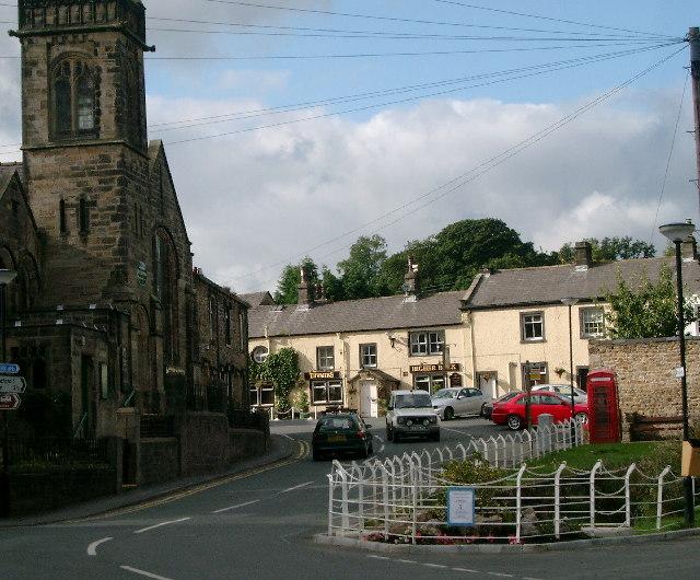 Waddington - top of the village