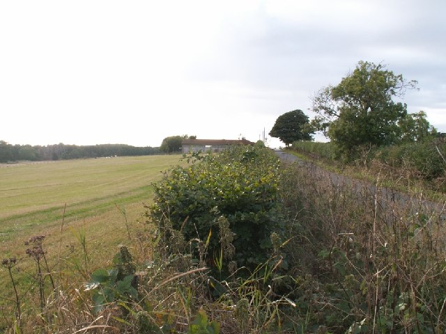Farm buildings on the road to Kilconquhar