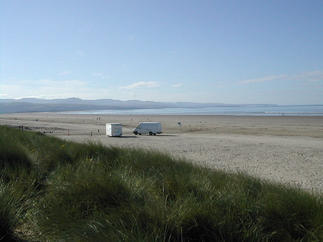 Dunes and Black Rock Sands at low water