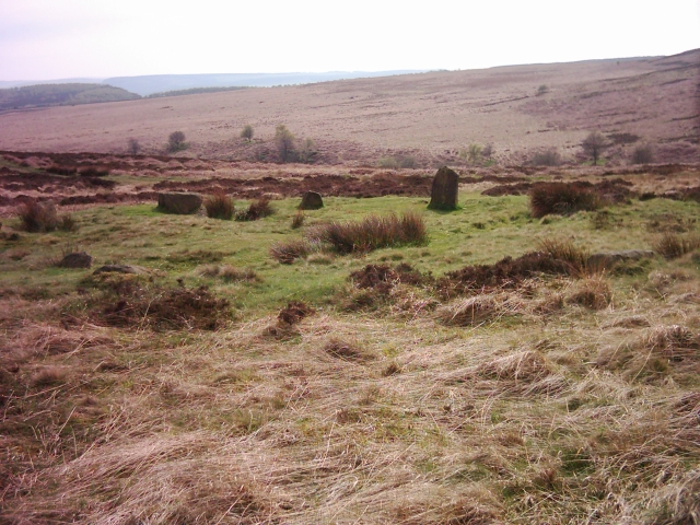 Stone circle near Bar Brook