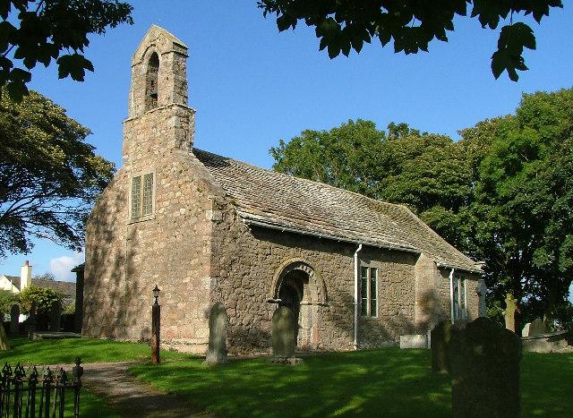 St Helen's church Overton, North Lancashire.