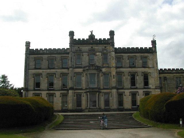 Elvaston Castle front view