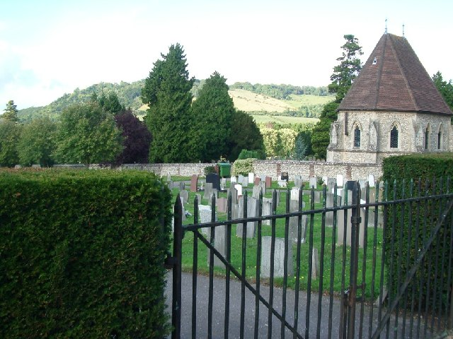 Cemetery beside Reigate Road, Dorking