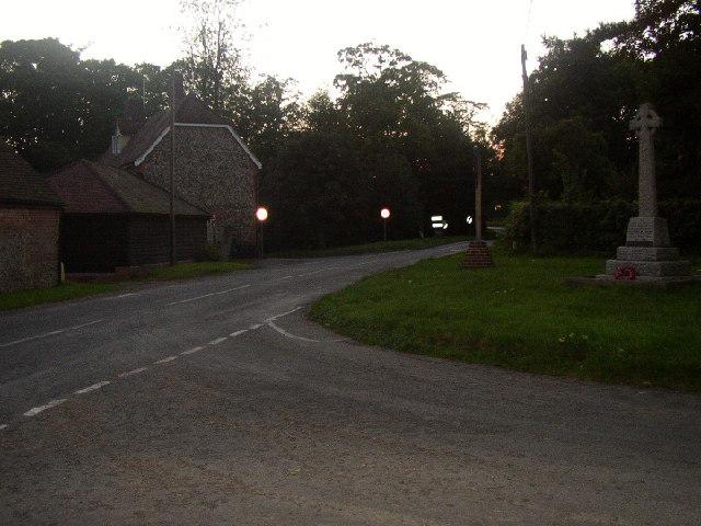Kirtling Cross Roads, Cambridgeshire