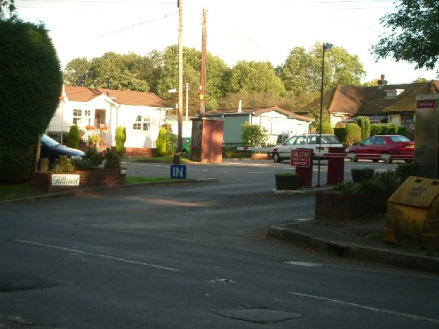 The entrance to Hillcrest at Box Hill village