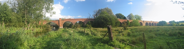 Hockley Viaduct panorama