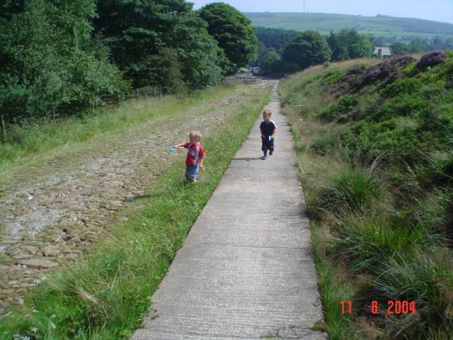 Track at Ogden Water.