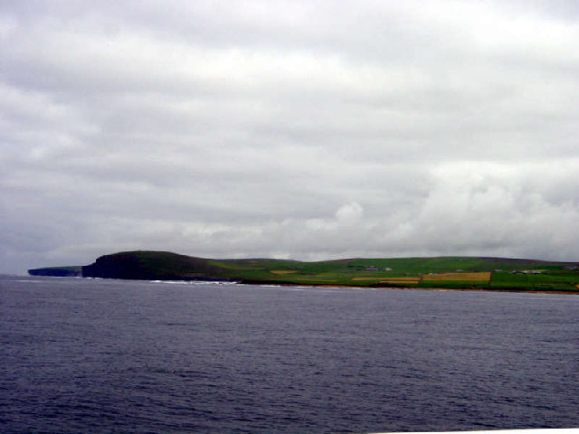Breck Ness from the Hamnavoe