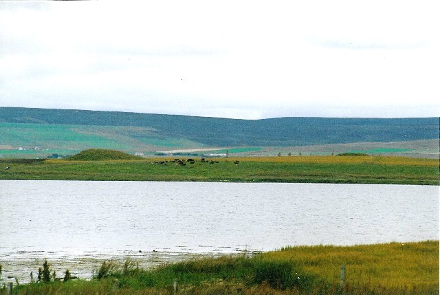 Ring of Brodgar, from the Unstan tomb site