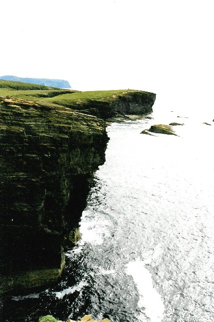 Brough of Bigging from Yesnaby cliffs