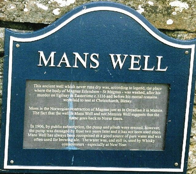 Man's Well