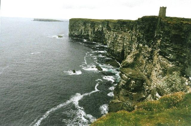 Cliffs at Marwick Head