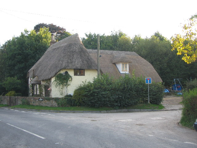 Thatched cottage at Brixton Deverill