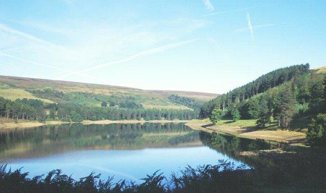 Derwent Reservoir.
