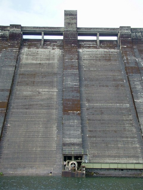 Sloy Dam Spillway & Outlet Valve