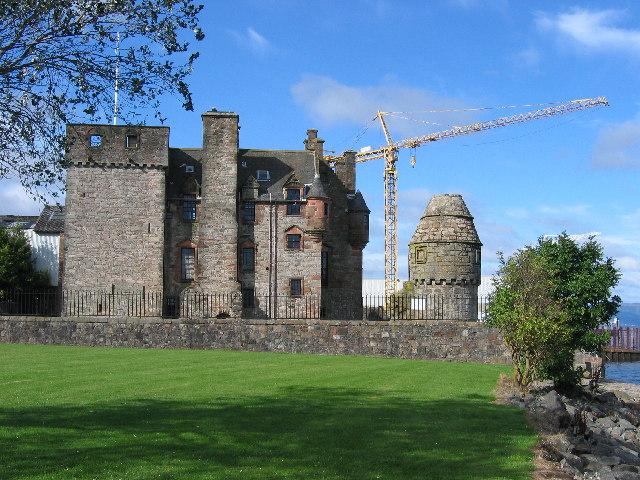 Newark Castle, Port Glasgow, Inverclyde