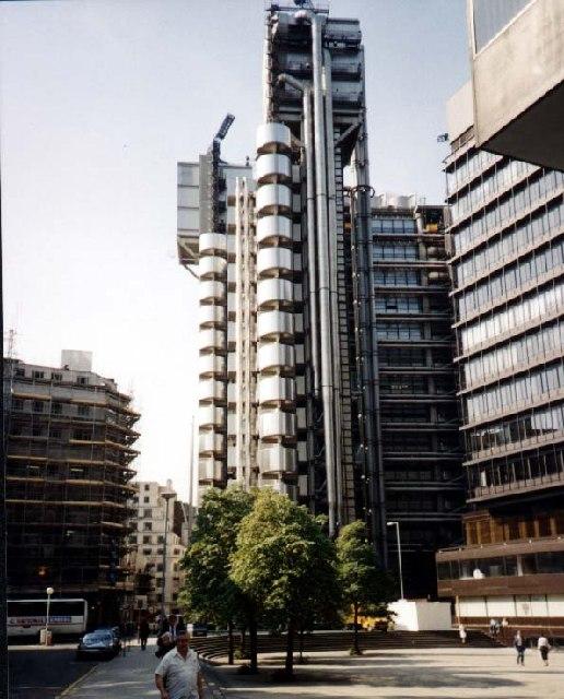 New Lloyd's Building - 1989