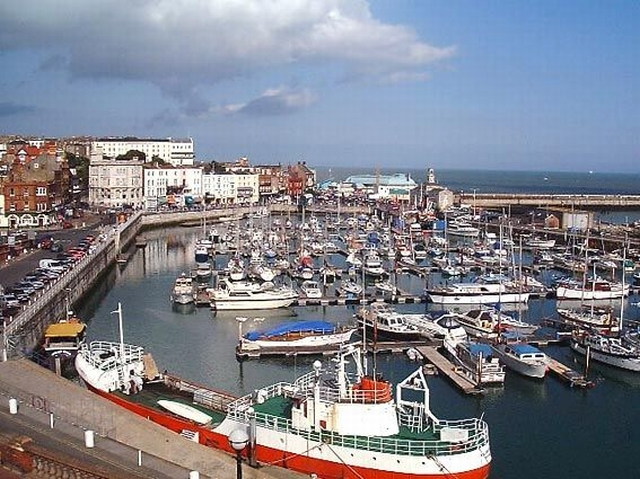 Ramsgate Inner Harbour - The Marina