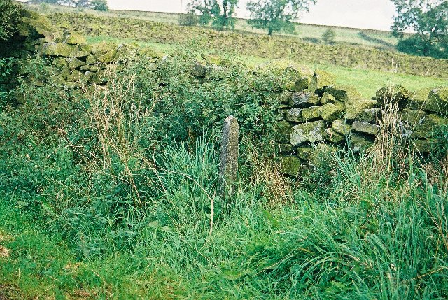 Boundary marker on Gisburn Old Road