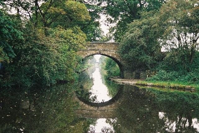 Belfield Bridge, Rochdale Canal, Lancashire