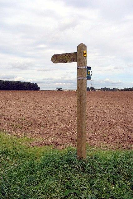 Viking Way Signpost