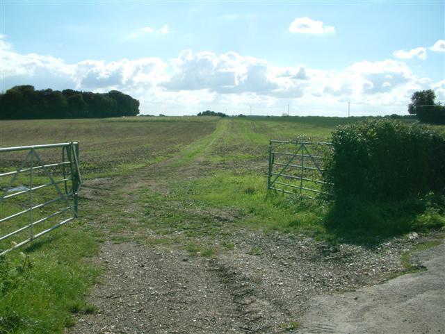 Bridleway to Barley Hill