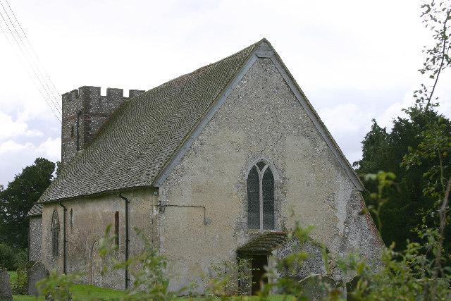 St Bartholomew's church, Waltham, Kent