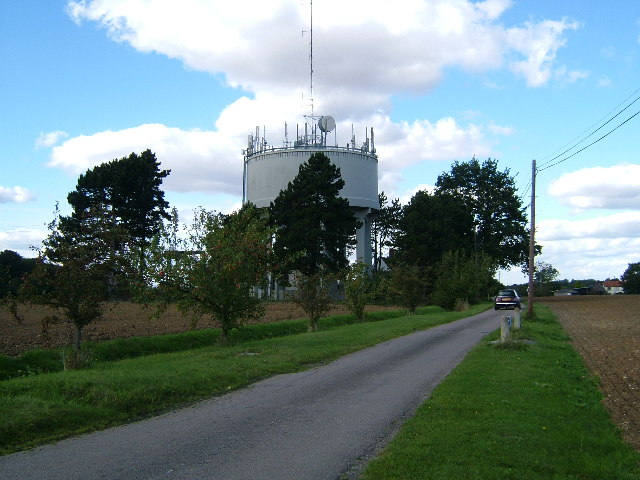 Water Tower at near Homelye Farm, Dunmow, Essex