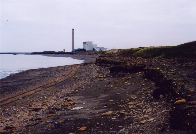 Lynemouth beach