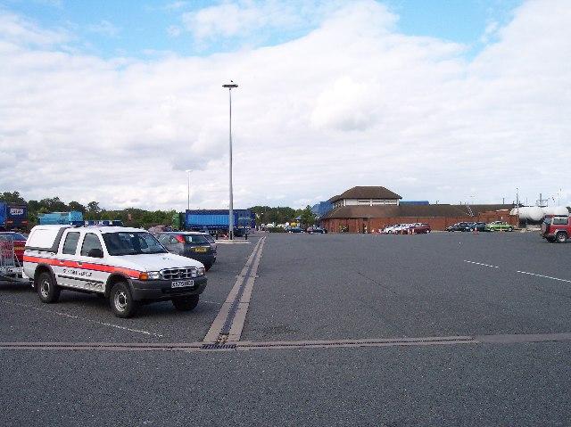 Strensham Services M5 northbound