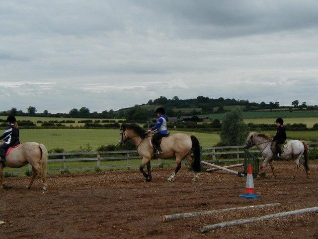 Riding School At Medbourne