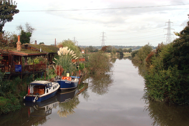 River Rother taken from Iden Lock