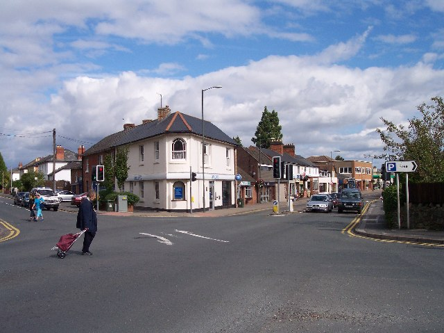 Malvern Link Crossroads.
